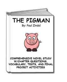 Printables The Pigman Worksheets novels activities and for the on pinterest pigman unit lesson plan activities