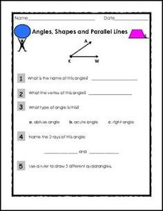 Free math lesson geometry terms student reference set go to free math lesson elementary geometry angles shapes and parallel lines ii fandeluxe Choice Image