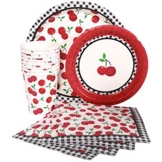 Cherries Party Express Party Package for 8