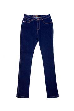 Plus Size Dark Blue Wash Denim Jeans
