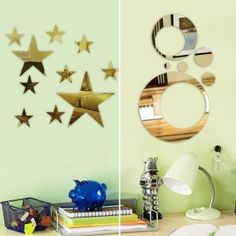 Great idea to use with MagScapes magnetic wallpaper and magnets.