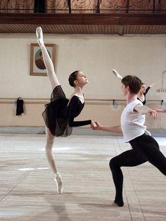 Alina Somova at Vaganova Ballet Academy