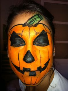 Pumpking. Calabaza. Spiderman, Halloween Cosplay, Face And Body, Body Painting, Carnival, Halloween Face Makeup, Princesses, Faces, Spider Man