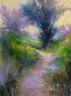 Barbara Newton Art Journal: For Evermore - based on path studies