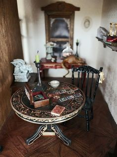 haunted house doll house!