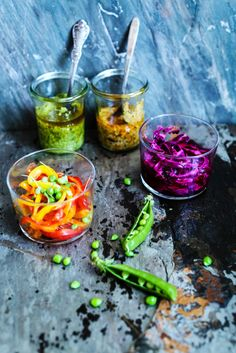 Pickled Bell Pepper & Cabbage : circahappy