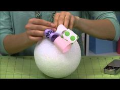 How to Make a Topiary for Easter - YouTube