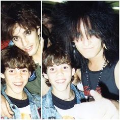 Young Steve-O with Nikki and Tommy. I can't believe this is Mötley Crüe's final tour. 80s Hair Metal, Steve O, Joe Rogan, Nikki Sixx, 80s Music, Hot Guys, Hot Men, Watch V, Memories
