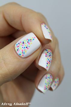 Holi Nails - Mary Monkett