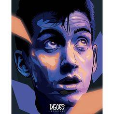 dig.oes/2016/10/11 21:34:57/Alex Turner-Arctic Monkeys (2nd version) #illustration #vector #vectorart #bestvector #vectorportrait #illustrationoftheday #popart #portrait #creative #print #graphic #graphicart #art #digitalart #instaart #artoftheday #artsy #adobe #illustrator #photoshop #music #alexturner #arcticmonkeys