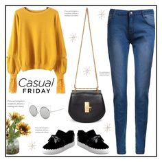 """""""Casual friday"""" by arohii ❤ liked on Polyvore featuring Chloé, Home Decorators Collection, Uttermost and rosegal"""