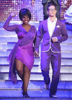 Dancing With The Stars Season 14 Spring 2012 Gladys Knight and Tristan MacManus Rumba
