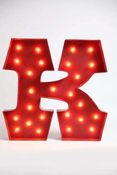 marquee alphabet light...would be so sweet above a mantel or in a playroom...SO fun!