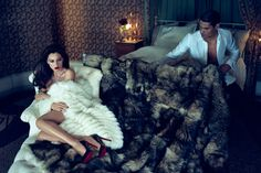 Monica Bellucci by Norman Jean Roy for Vanity Fair 2013