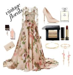 """this is the last time...promise"" by beatrizyntvg on Polyvore featuring Marchesa, Barneys New York, Bobbi Brown Cosmetics, Gucci, Lana Jewelry, Chanel and Alexander McQueen"
