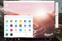 nice New Remix OS Player will produce a virtual Android desktop on your Home windows Laptop