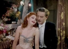 Moira Shearer and Anton Walbrook in The Red Shoes (Michael Powell & Emeric Pressburger, 1948)
