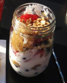 Breakfast Jar Parfait Recipe