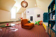 small polygon sleeper chair sofa