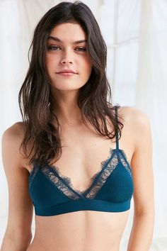 211fd1bc1af75 17 Bras That Are Cute And Really Comfortable. Women LingerieScaffoldingUrban  OutfittersLounge OutfitTriangle BraCute ...