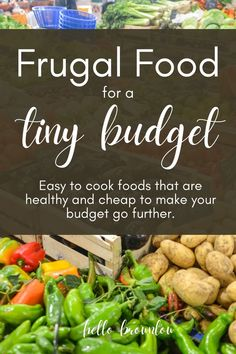 Frugal Meals, Budget Meals, Frugal Living Tips, Get In Shape, No Cook Meals, Grocery Store, Saving Money, Budgeting, Good Food