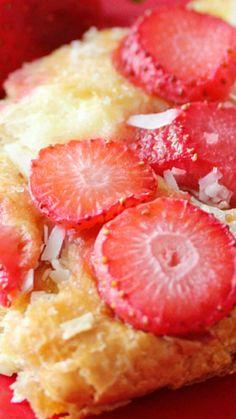Strawberry & Coconut Breakfast Casserole Recipe