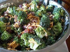 Brooke Bakes : Broccoli Salad