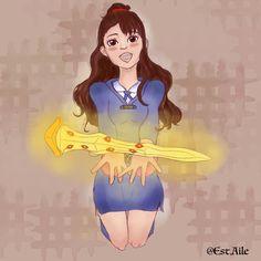 Fan art little witch academia  Instagram: @est.aile  Youtube: Est-aile