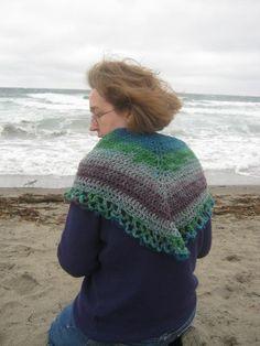 York Shawlette Free Crochet Pattern