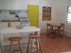 House in Caye Caulker, Belize. Spacious furnished Studio Bungalow located in the charming Village of Caye Caulker.  We are centrally located with shops, restaurants, nightlife, and sea just a stone throw away!  Years ago the Baby Bungalow served as the island's tortilla factory...