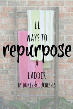 11 ways to repurpose a ladder
