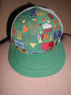 NIKE 643 HAT Old School HIP HOP Design Boombox Ice Cream Van Domino Kicks 7  5 8  NIKE  BaseballCap dd0e72557751