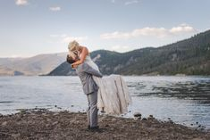 Labor Day Wedding at the Lake | Colorado Wedding Photographer | Elopements + Weddings | Keeping Composure Photography
