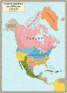 Balance of Power - 1871 - North America by CoryCA