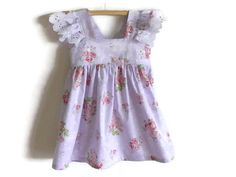 Girls party dress baby dress infant dress by NaturalKidsClothing