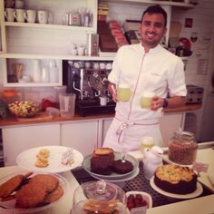 Best scones and smoothies café in Buenos Aires. Farinelli.  MyRestaurantIdea.wordpress.com