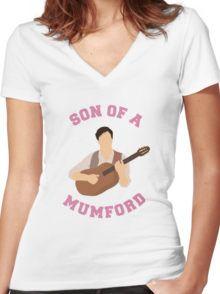 Son of a mumford Shirt mit V-Ausschnitt