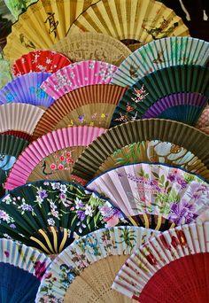 Oriental Fans Photograph  - Oriental Fans Fine Art Print