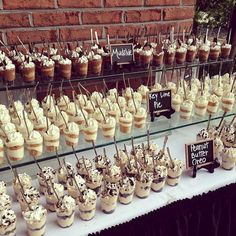 53 Adorable Wedding Dessert Table Ideas