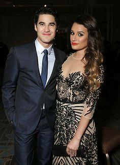 Darren Criss & Lea Michele