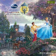 Thomas Kinkade Disney Collection: 2012 Wall Calendar $13.99
