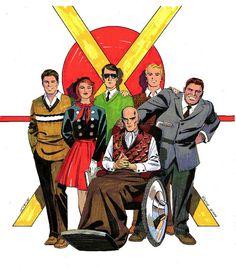 The Original X-Men by Steve Rude *