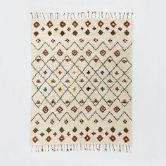 Riad Shag Rug, 9'x12', Multi 1299/909