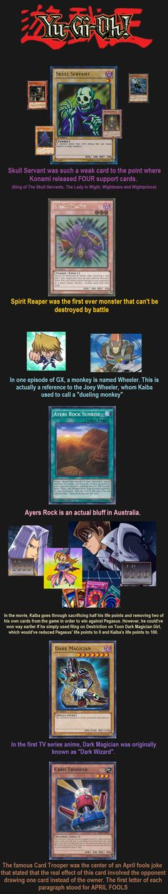 Yugioh Facts 4 // tags: funny pictures - funny photos - funny images - funny pics - funny quotes - #lol #humor #funnypictures