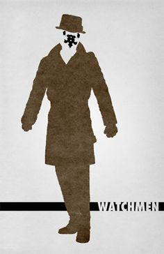 Watchmen Minimalist Poster | The Bear Jedi: Archive
