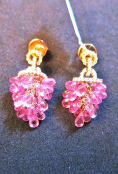 Briollets de safiras rosas, adoro!