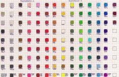 Polychromos Color Chart by Josephine9606.deviantart.com on @DeviantArt
