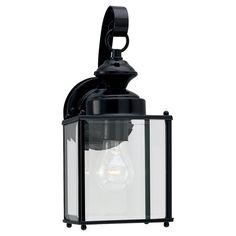 Single-light Jamestowne Outdoor Wall Lantern Fixture - Overstock™ Shopping - Big Discounts on Seagull Lighting Wall Lighting