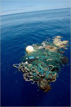 Rubbish in the Pacific