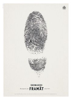Handmade shoes: Unique by hand. Great print ad. Skomakeri Framat